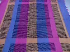 Arab Shemagh Kafiya Head Scarf, Square Scarf, purple orange rainbow scarf scarf