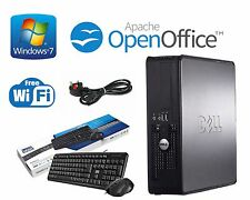 Dell Optiplex 780 SFF Intel Dual Core @ 2.60GHz 4GB RAM 320GB Windows 7 Computer