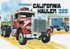AMT [AMT] 1:25 Peterbilt 359 California Hauler Plastic Model Kit AMT866