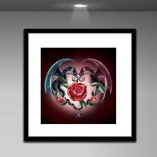 5D Diamond Dual Dragon Painting DIY Embroidery Cross Stitch Kit Home Decor #JT1