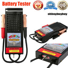 6-12V Auto Battery & Charging Tester System ATV BOAT RV Automotive Tools US OY