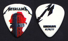 Metallica James Hetfield Copenhagen 2/7/17 Guitar Pick - 2017 WorldWired Tour
