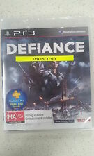 Defiance Game Online Only Sony PS3 Brand New and Sealed