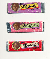 Michael Jackson RARE chewing gum (3 sticks) '84