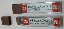 160 Leads Faber Castell Mechanical Pencil Refills Super Fine Lead 0.5mm 2B