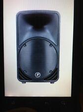 1 Mackie SRM 450 Powered PA Speakers SRM450