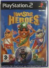 COMPLET Jeu HAMSTER HEROES playstation 2 sony PS2 francais action reflexion spel