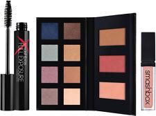 Smashbox Minibox Palette Eyeshadows Blush Mascara Lip Gloss New in Box