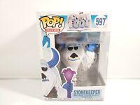 FUNKO POP Movies 597 Small Foot STONEKEEPER Vinyl Figure NIB