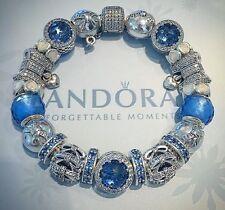 Genuine Complete Pandora Silver Bracelet