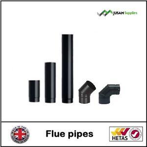 flue pipes 5 inch 6 inch for wood burning stove log burner multi fuel stoves