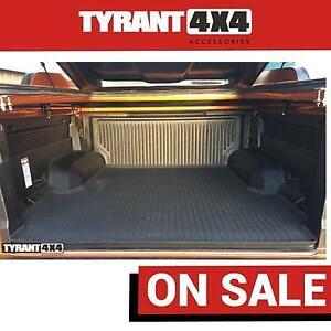 Ford Ranger Raptor 2021 MK3 PX3 XLT XLS Rubber Ute Mat Floor Tray Tub antislip