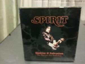 Spirit - Sunrise & Salvation The Mercury Era Anthology  (NEW 8 CD BOX SEALED)