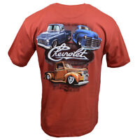 Chevy Mens Tee T Shirt SS Trucks Racing Logo Vintage American Muscle Car USA NEW