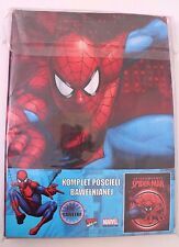 Marvel The Ultimate Spider-Man Kids Boys Red 2 piece Bed Set NWT