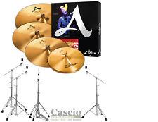 Zildjian A391 A Cymbal Pack Bundle w/ Pearl 830 Series Stands