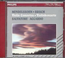 MENDELSSOHN & BRUCH - Violin Concertos - Salvatore ACCARDO - Philips WG PDO