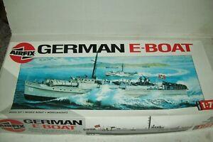 AIRFIX  WW2  GERMAN E-BOAT   1:72 scale  kit