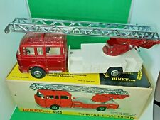Vintage DINKY TOYS MODEL  No.956  TURNTABLE FIRE ESCAPE