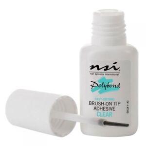 NSI Polybond Nail Glue - False Tips Acrylic/Gel Nails 7.4ml