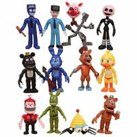 12Pcs/Pack FNAF Five Nights at Freddy's Action Figures Toys Kids Xmsa Gift Toy