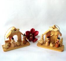 Holz Weihnachtsschmuck Baumschmuck Weihnachtsdeko / df 455