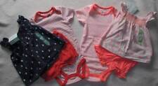 Lot New Girl 18m Diapercover Sets One-Pieces Sleeve-less Tops Diapercovers Cottn