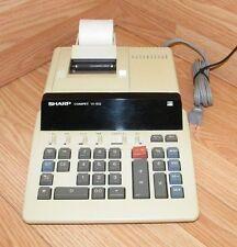 Vintage Sharp (VX-1652) Desktop Printing Calculator w/ Some Paper **READ**
