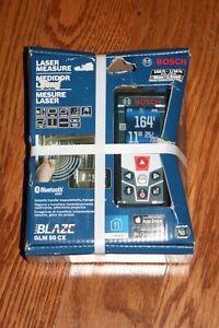 Bosch 165' Red Beam Laser Measure w/ Bluetooth GLM 50 CX  - NEW