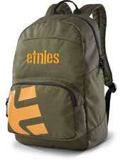 Etnies Locker Backpack in Green/Orange