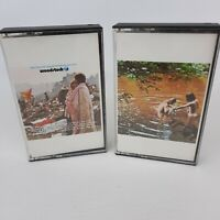 Vintage Lot Woodstock I and II Cassette Tapes Motion Picture Soundtrack