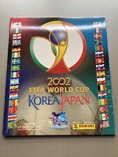 Panini Worldcup 2002 Factory Sealed Empty Album ( No Set) Mega Rare Version W-EU