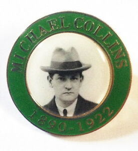 MICHAEL COLLINS BADGE