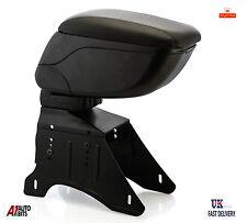 Universal Black Eco Leather Sliding Armrest Arm Rest Center Console New Box