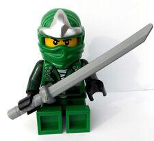 Lego Green Ninjago Ninga Alarm Clock Lloyd 2012 Figure With Sword