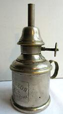 petite lampe à pétrole ou essence PIGEON Garantie véritable, poignée anneau