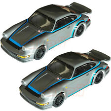 COLT 911 RS 160mm Clear Body Set For 1:10 M-Chassis 2pcs Combo RC Cars #M2327 x2