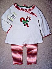 Girl's - 3-6 M - First Impressions 2 Piece Set Christmas Set - MSRP $29.50
