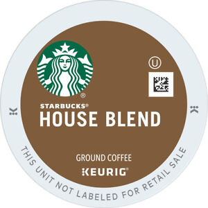 Starbucks House Blend Coffee 24 to 144 Keurig K cup Pick Any Size FREE SHIPPING