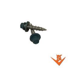 "250/bag - #10-15 X 1"" WoodGrip™  HiLo Metal Roofing Screws, Pole Barn, Siding"