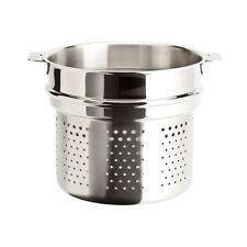 Cristel Casteline Removable Handle - 5 Qt Pasta Basket
