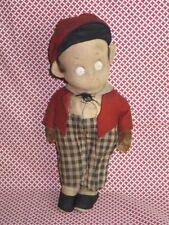 Antique Vintage 1920s-30s SKIPPY Cloth Doll-Original Newspaper Comic LENCI?