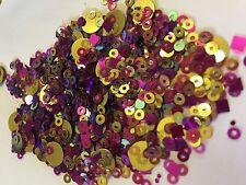 Glitterexpress Pink & Gold Sequin MIX Card Making, Scrapbook, Crafts, Shaker Car
