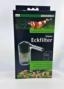 Dennerle Nano Eckfilter oder Eckfilter XL Aquarium Innenfilter Zubehör Filter