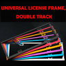 Car Styling  License Plate Frame Thickened Gold Aluminum Alloy Universal