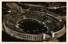 AK Berlin, Olympia 1936, Olympiastadion, Echte Fotokarte, 12/06