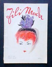 Moda Ricamo - Taglio cucito Fili Moda Lavori Femminili - N°14 - Febbraio 1942