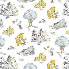 New listing Disney Winnie The Pooh Togetherish Kind of Day 100% Cotton Fabric by The Yard