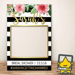 Bridal Shower Photo Booth Frame Prop (80 x 110 cm) Instagram Frame Facebook