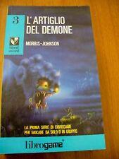 L'ARTIGLIO DEL DEMONE - LIBROGAME BLOOD SWORD 3- MORRIS -JOHNSON